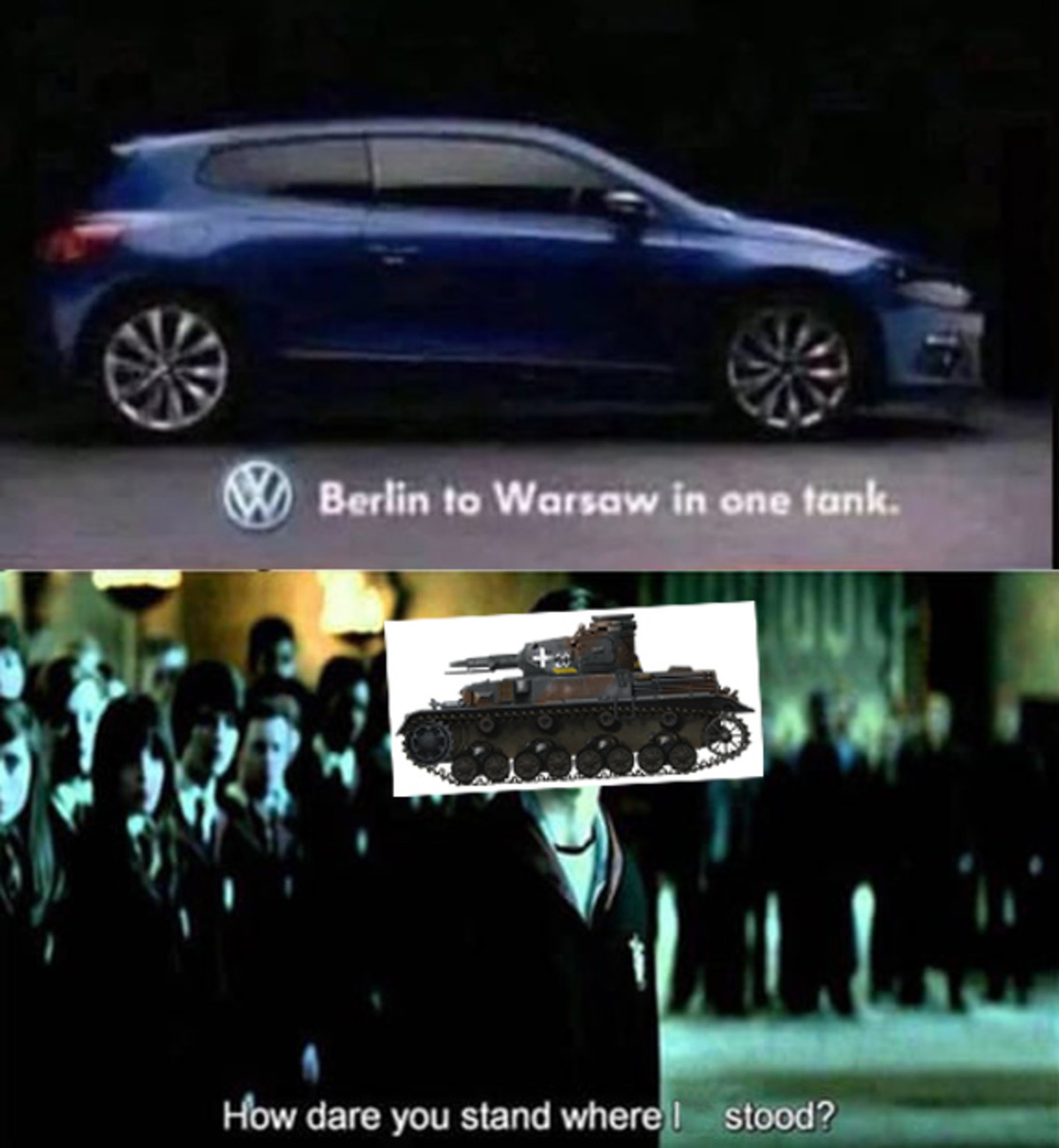 cries in Wehrmacht. .. This car will last longer than 3nd reich did lmao