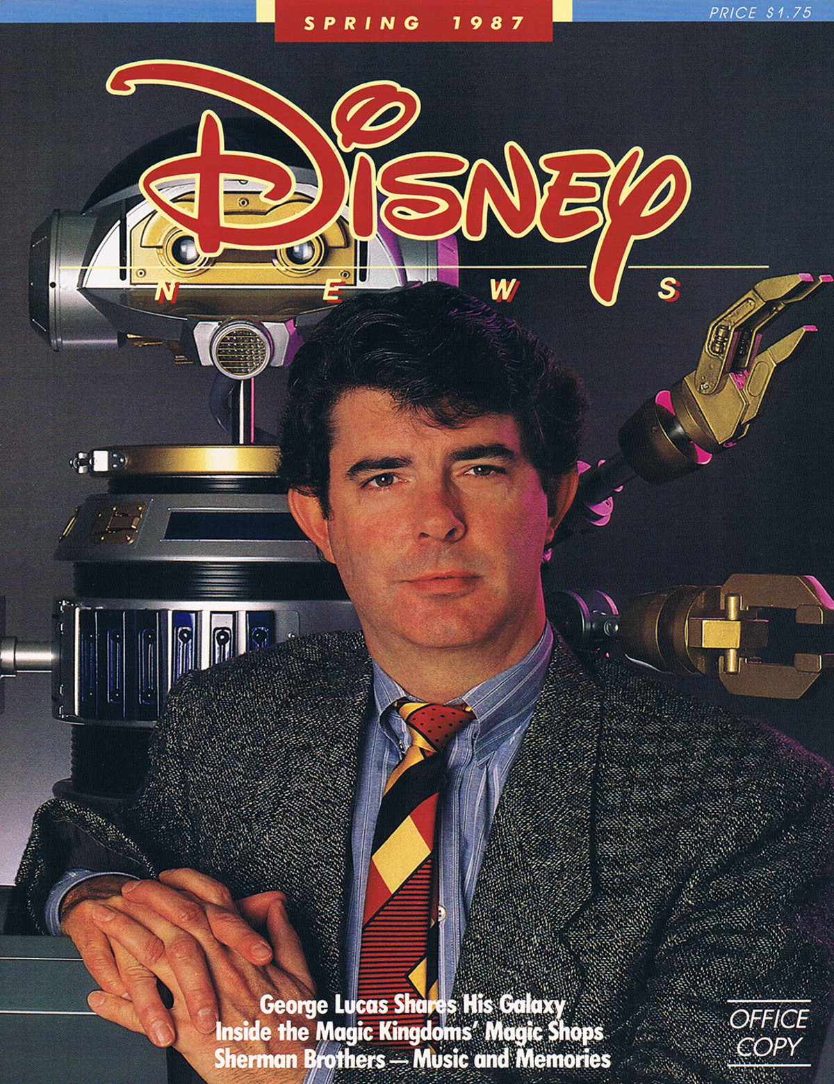 Cursed image. George Lucas without a beard.. That is just weird, like seeing Bob Ross without his signature fro and beard. Some things were just not meant for mortal eyes to see.