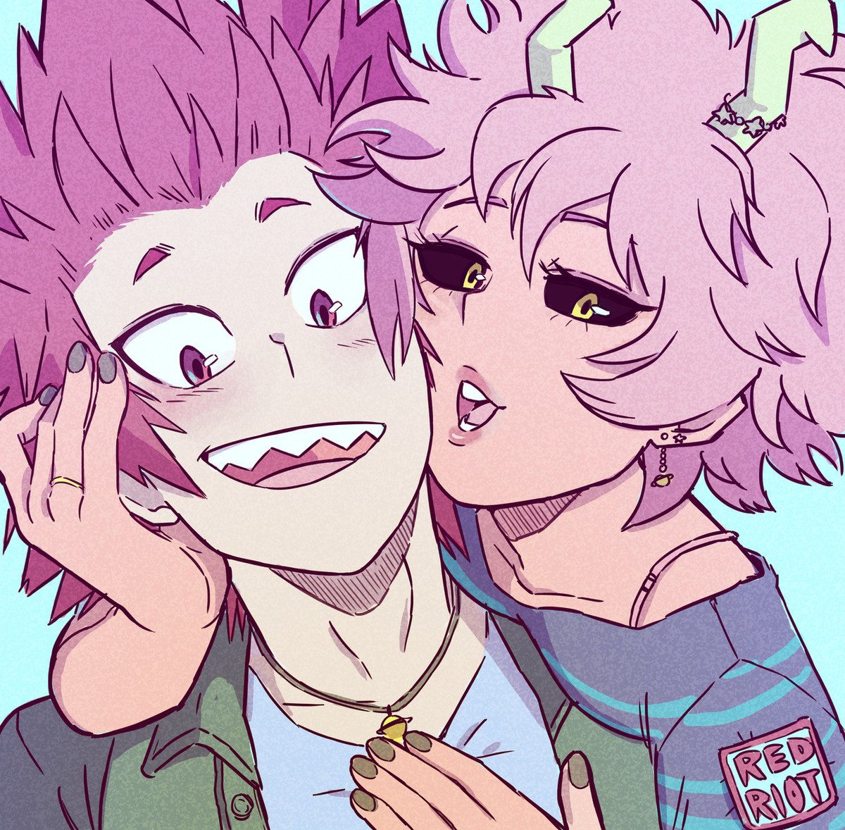 Daily Ashido 143. join list: DailyAlienQueen (214 subs)Mention Clicks: 20611Msgs Sent: 35886Mention History Posting a little early cuz fasting ..