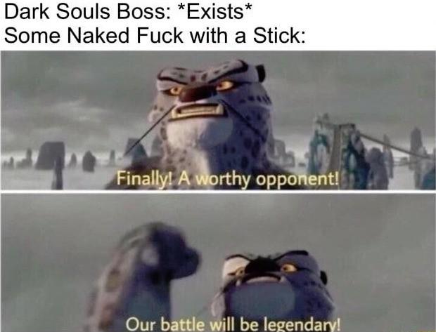 Dark Souls Bosses. .. Clown suits are petrifying