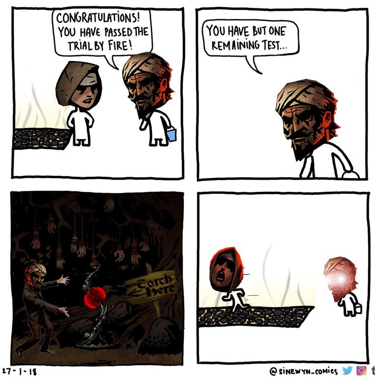 Darkest Dungeon Comp - A torch into the red orb for fun times. It's been a long time since I uploaded DD content. But better late than never right? Nice font th