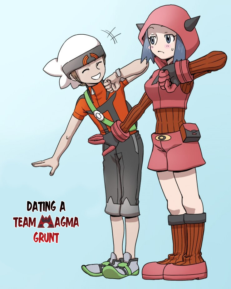 dating a team magma grunt part 2