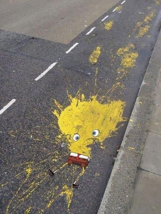 Dead Spongebob. .