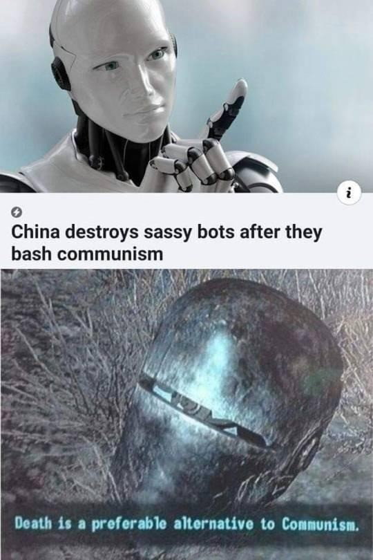 DEMOCRACY IS NON-NEGOTIABLE!! EMBRACE DEMOCRACY OR BE DESTROYED!!. .. And in the 4th game Liberty Prime did rise again to fight the commies and it was good. - The Bible: 'Murican Edition