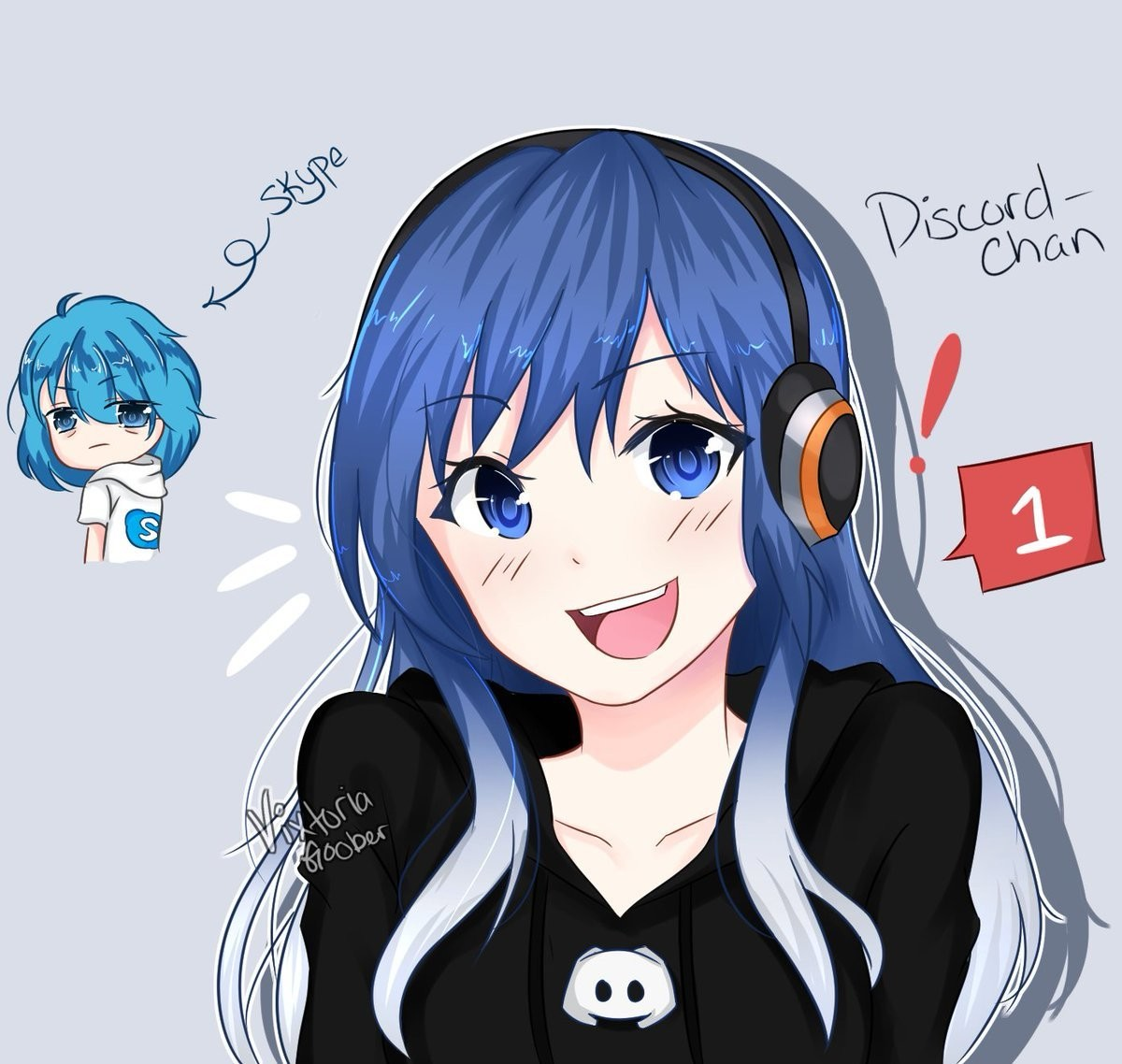 DISCORD BESTIE. join list: QT (94 subs)Mention History https://www.twitter.com/VixtoriaGoober/status/949364713674158084.. When they say that you can't make everything an anime girl