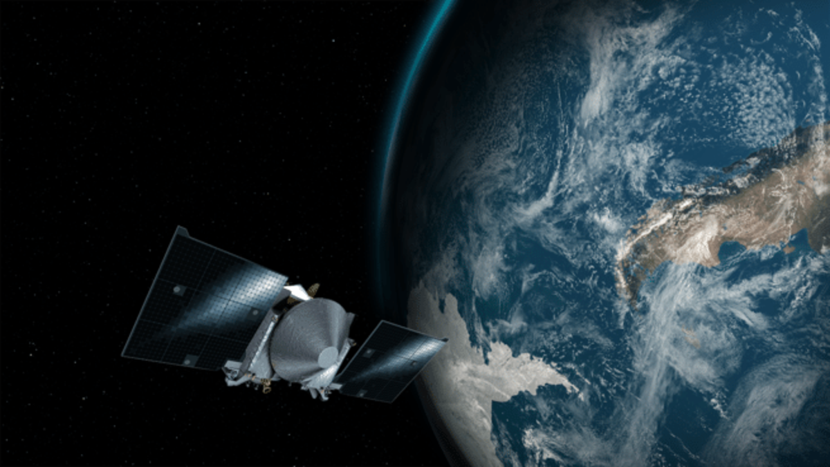 WOULD YOU LIKE TO PLAY A GAME?. NASA's asteroid-collecting spacecraft will slingshot around Earth today OSIRIS-REx (a.k.a. Origins, Spectral Interp