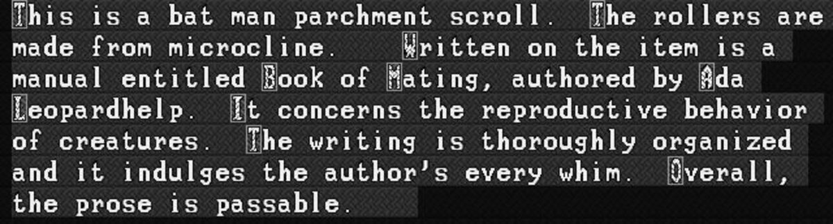 Dwarf Fortress Deviant Art Story Degenerates. Ah man even in Dwarf Fortress you can't escape the degenerate furries and their stories .. This isn't a furry book, it's a Batman fanfic book. Did you even read?