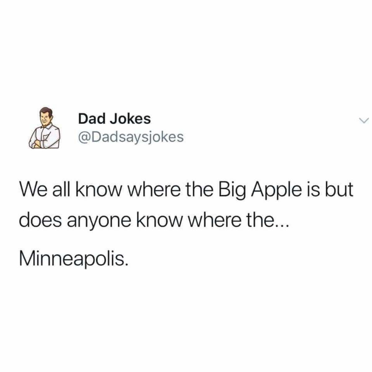 Epic dad joke. .. probably where the MetropolisComment edited at .