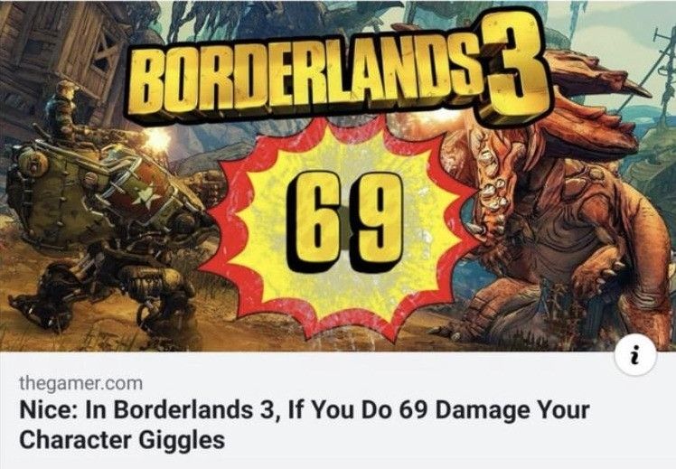 """epic gamer moment. .. I died in BL3 yesterday, and when I respawned the respawn point said """"Hey, you. You're finally awake! You were trying to cross the border, right?"""" I h"""