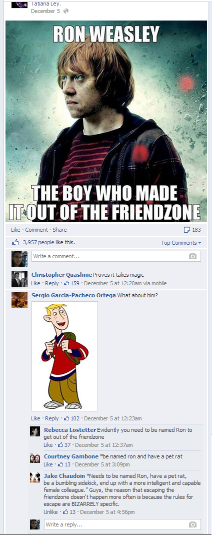 escaping the friend zone