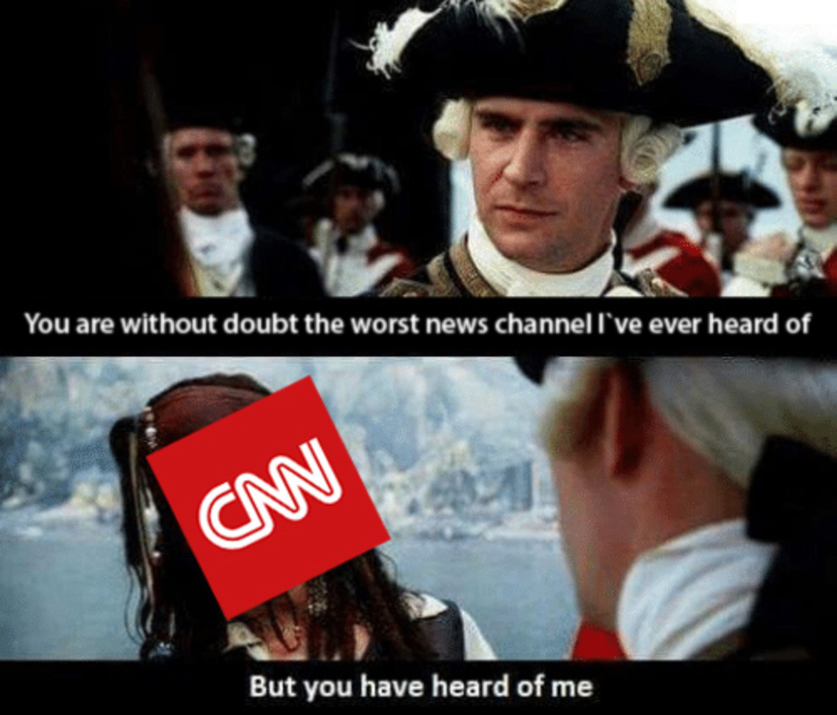 Every time CNN caught lying to the people. . But you have heard of me. CNN in a nutshell