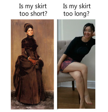 Everyday women problems. .. >OP posts real pic of legs That is not fair, OP...not fair at all!