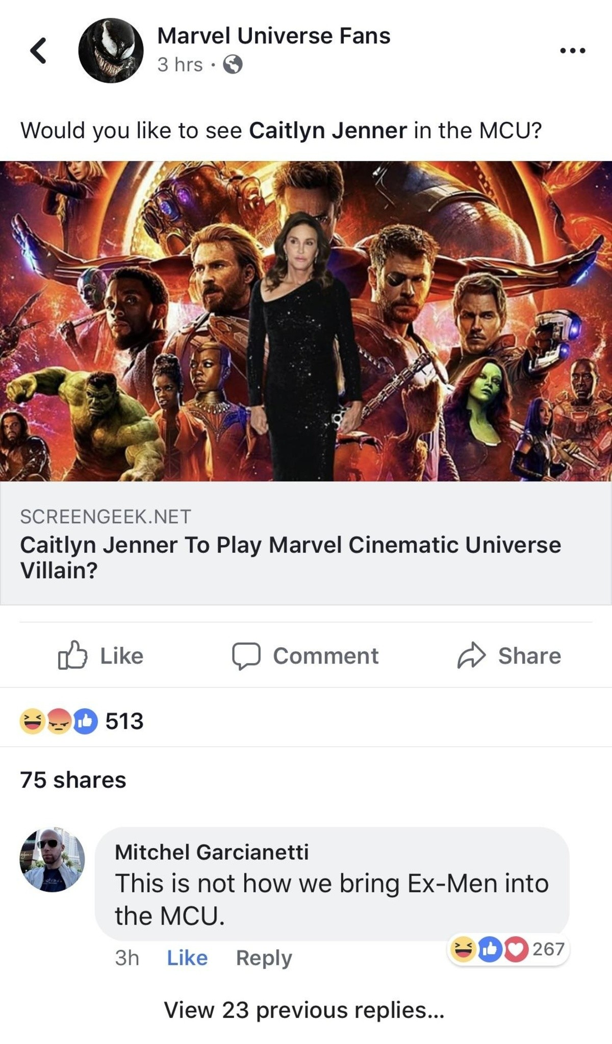 EX. .. she gonna run over thanos with her car and get no jail time for it