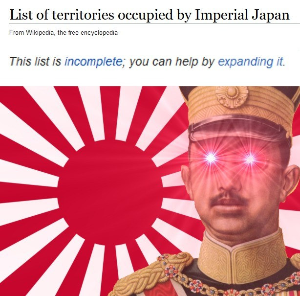 EXPAND. Battotai intensifies. List of ', by Imperial Japan From i' ! the free encyclopedia This list is you can new by It. Legend says Hirohito gains a chin every time a Japanese soldier kills a chinaman
