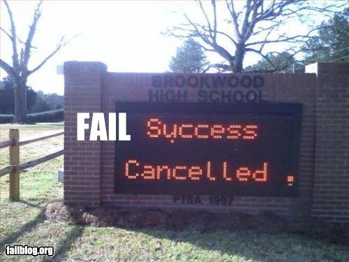 fails, fails for all. you think you passed think again.