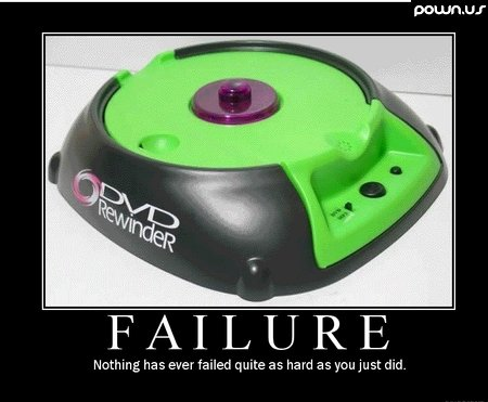Failure. . FAILURE Nothing has ever failed mute as hard as you just did.. CAPITALISM.