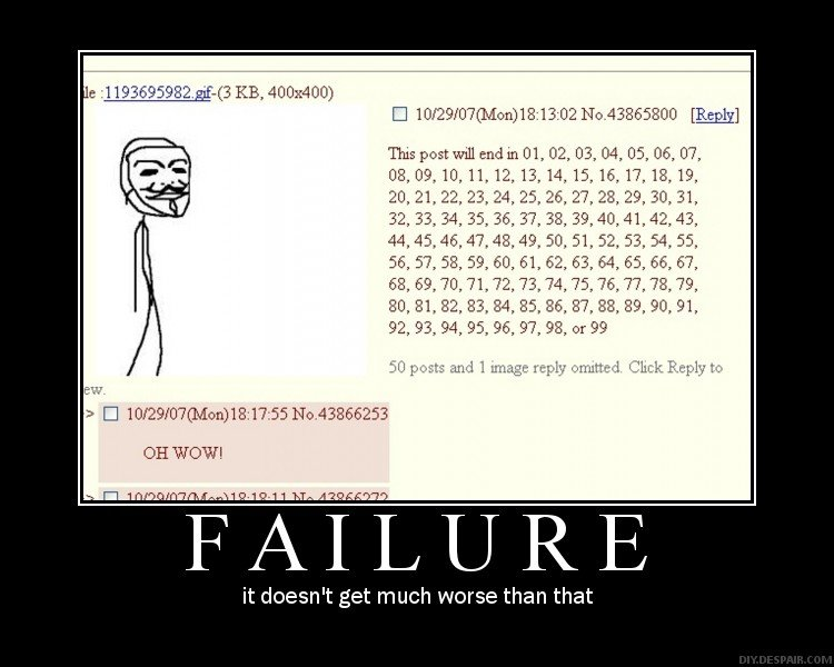 Failure. . 11936_ 95982. ( 3 KB, 400x400) OH WOW) L Ball R E it doesn' t get much worse than that. never seen a better use for this <<