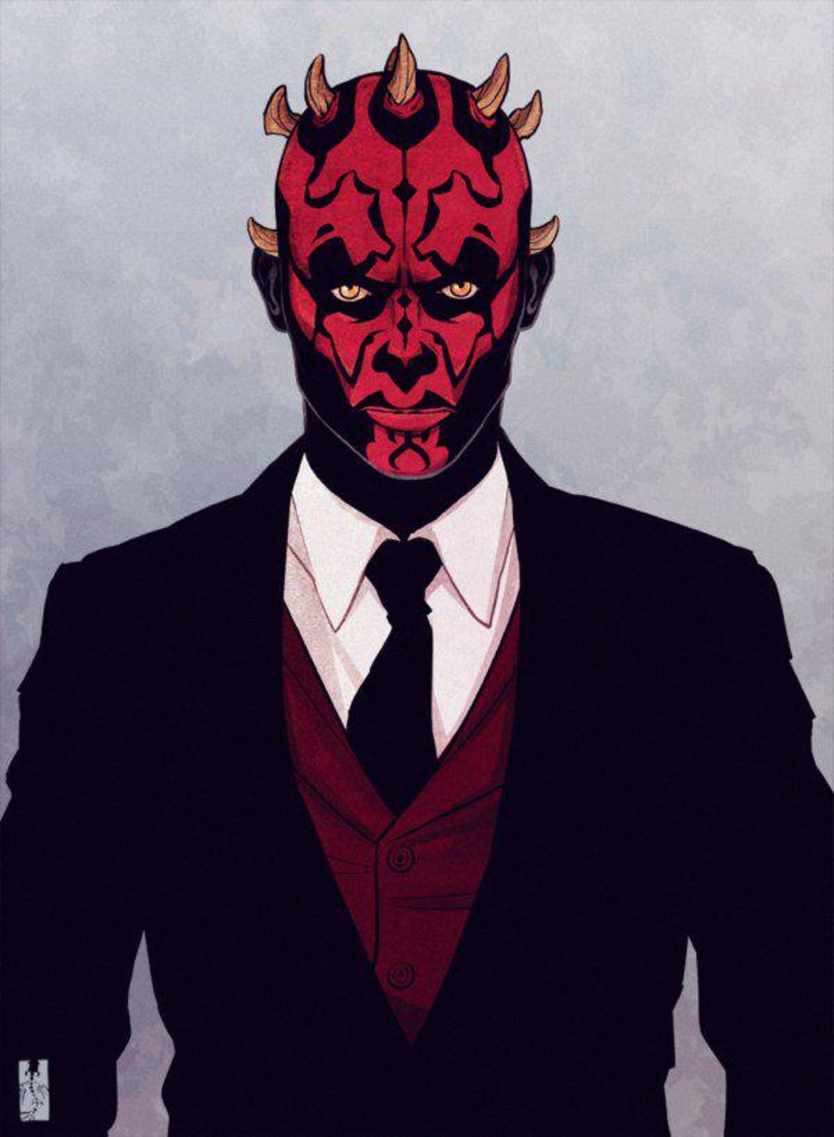 Fancy Maul. .. I didn't know I needed this