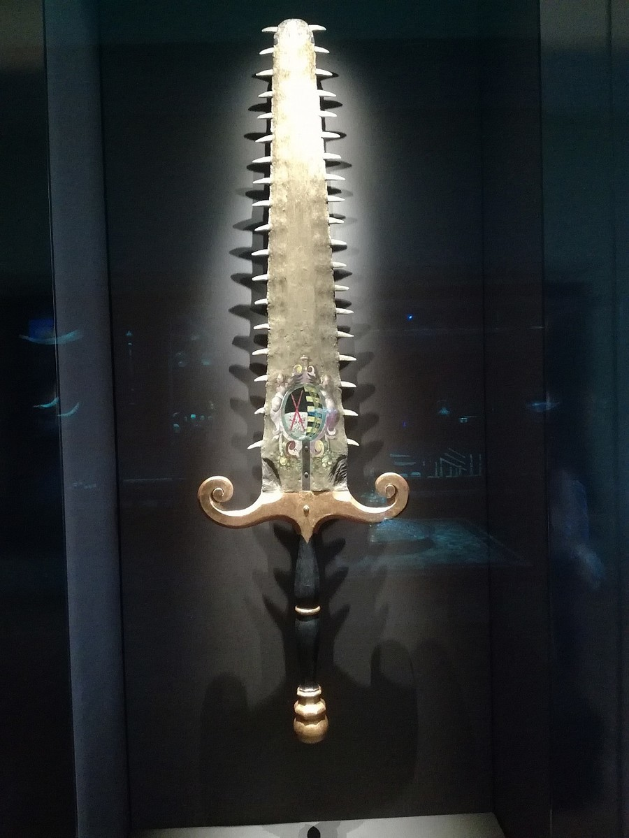 "fancy way to make people unalive. join list: StabbingTime (527 subs)Mention History.. idk if that tooth sword is ""fancy"" ""brutal"" and ""savage"" come to my mind first"