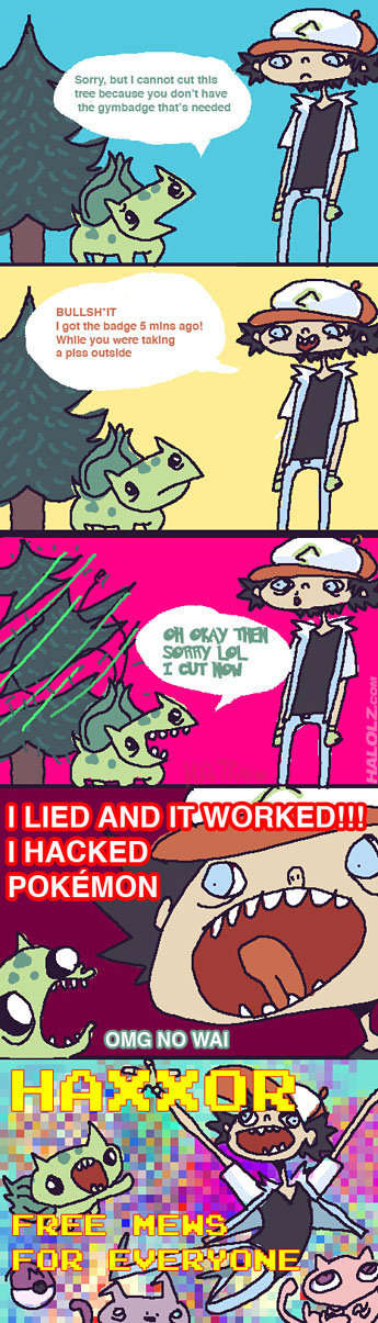 Fav Pokemon Comic. This is probably one of my favorite pokemon comics of all time, OF ALL TIME! CHECK THE TAGS Original FJ poster: tomatozification. BU LLB I go