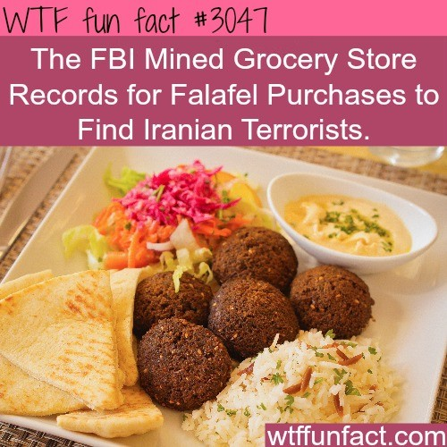 Felled By Falafel. .. But did it work tho?