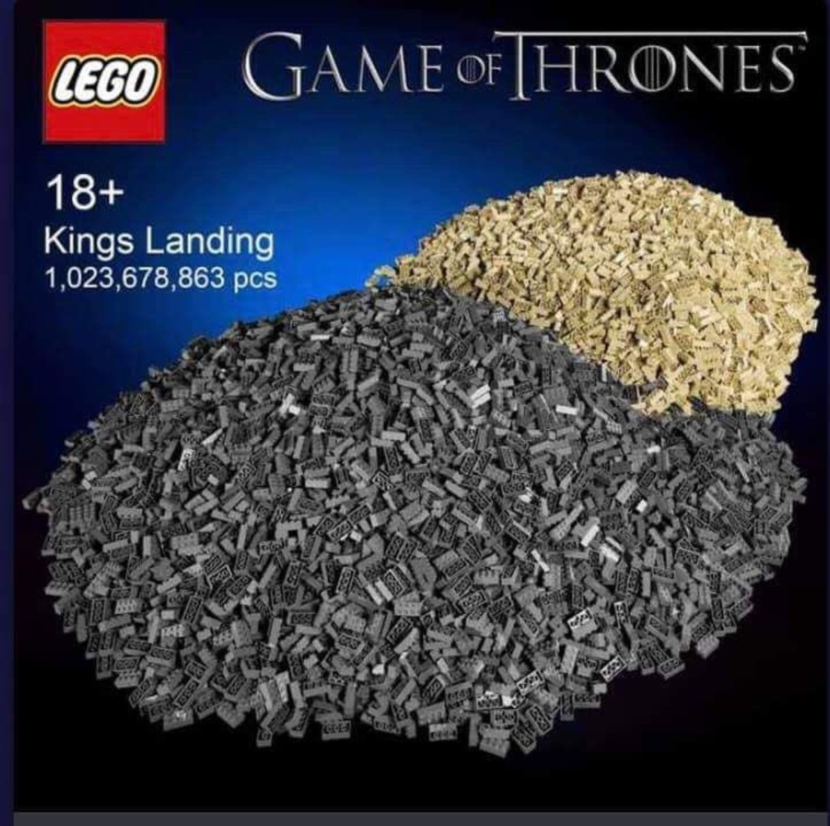 finally a lego set i can build.... .. I hate it when they come already put together.