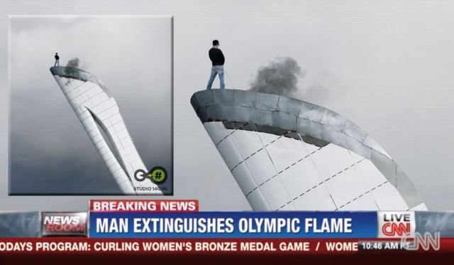 follow your dreams. . BREAKING NEWS MAN EXTINGUISHES DUMP