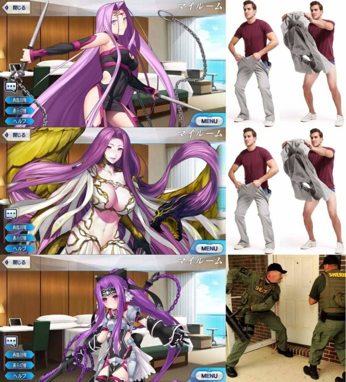 Forms of Medusa. join list: BewbDudes (2577 subs)Mention History join list:. >When you find out that she's older than 18