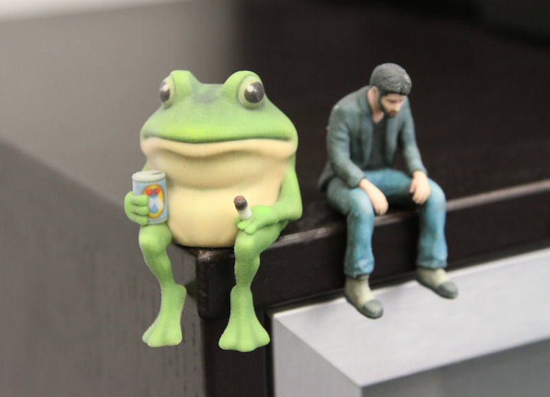 Foul Bachelor Frog. The 3D printed Foul Bachelor Frog meme: .. giffythetoad Surprise us with your greatness.