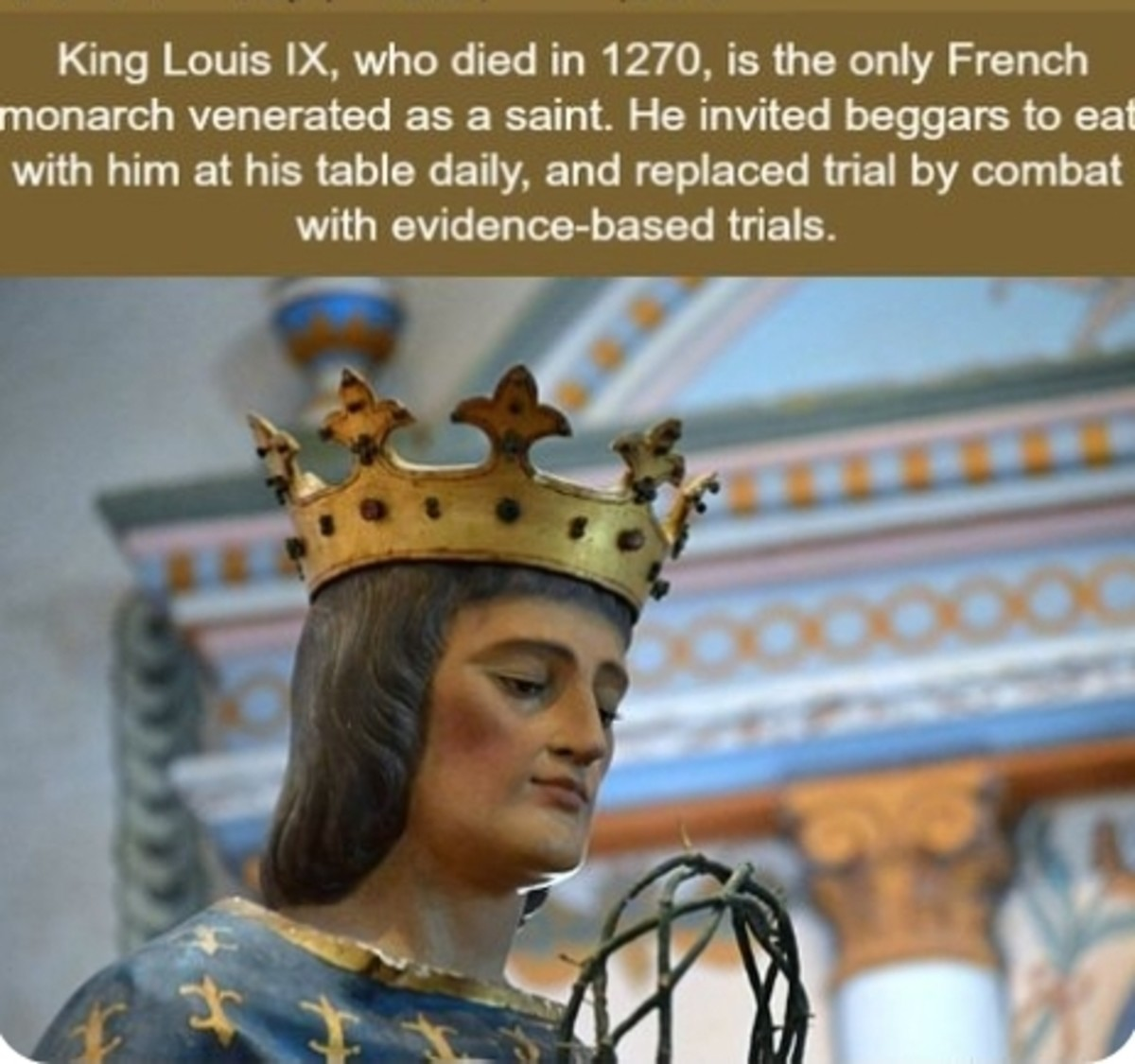 French King. .. What a poser, lemme fight for freedom dammit.