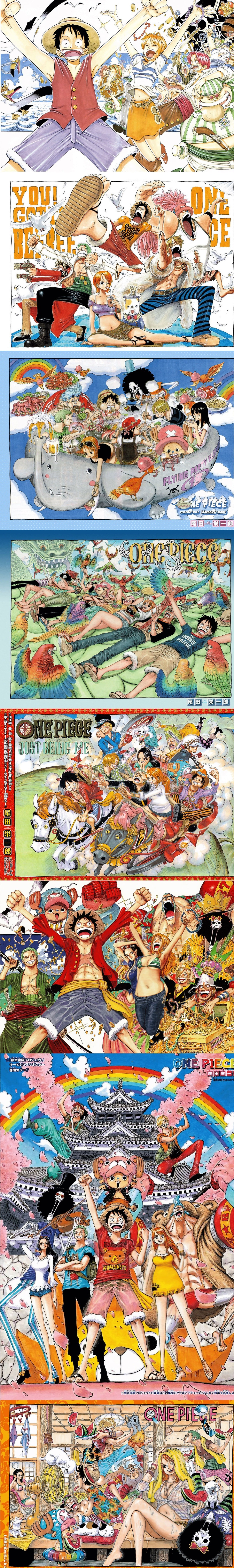 From Chapter 1 to 904...and still going on. .. Is Nami pregnant in that last image?