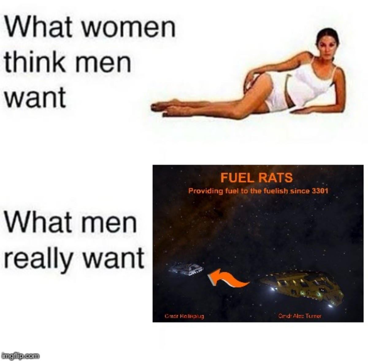 Fuel rats. .. Elite dangerous is a good game, check it outComment edited at .
