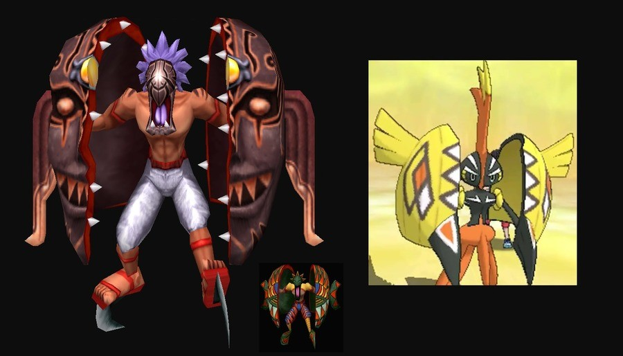 """Gamefreak Used Copycat. Did Gamefreak just copy Dark Cloud's monster """"Nikapous""""? XD.. most likely there is another cultural origin that these to share"""