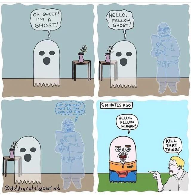 ghosts. .. Nice!