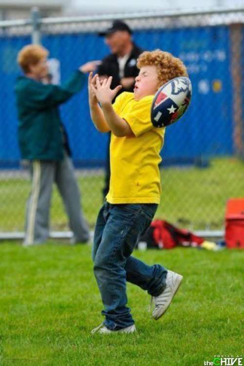 Ginger kid fail. http://funnyvideoseveryday.blogspot.com/.