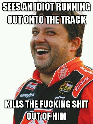 Good Guy Tony Stewart