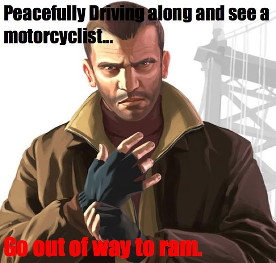 "Grand Theft Auto 4 Meme. Probably not relevant anymore but i still play it a lot. Will make a Comp later.<br /> <br /> <a href=""pictures/177"