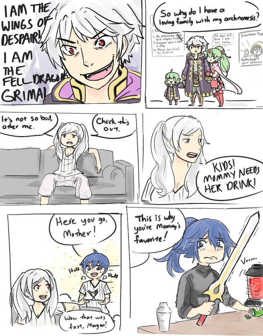 Grima Mother of the Year. .. Morgan is best child.