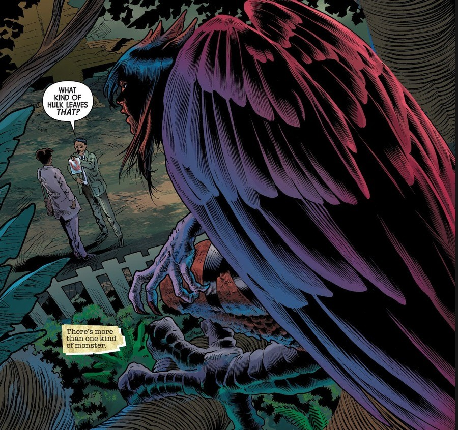 Guess who's back. Immortal Hulk #16 Ever had Gamma powers? Died recently? You comin' back with Gamma powers. Spoilers for Immortal Hulk down below . . . . . . .