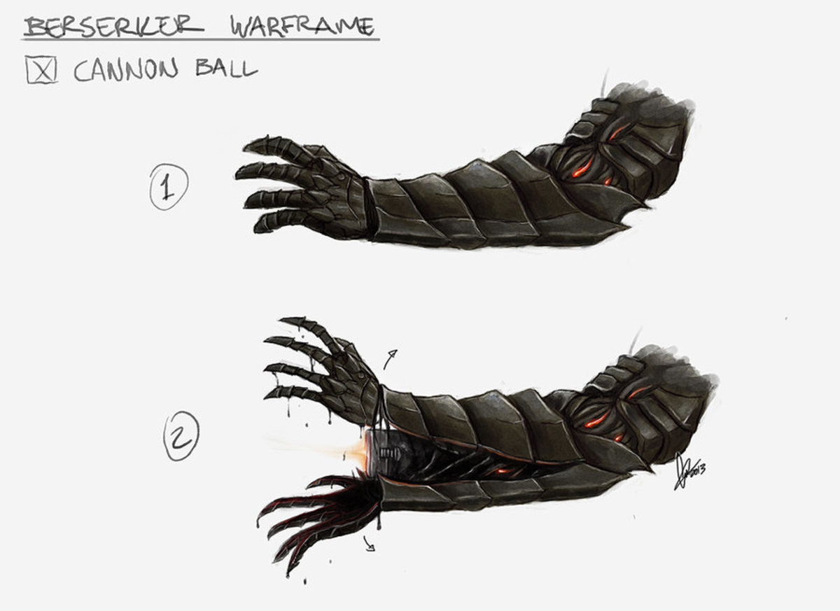 Guts plays Warframe. .