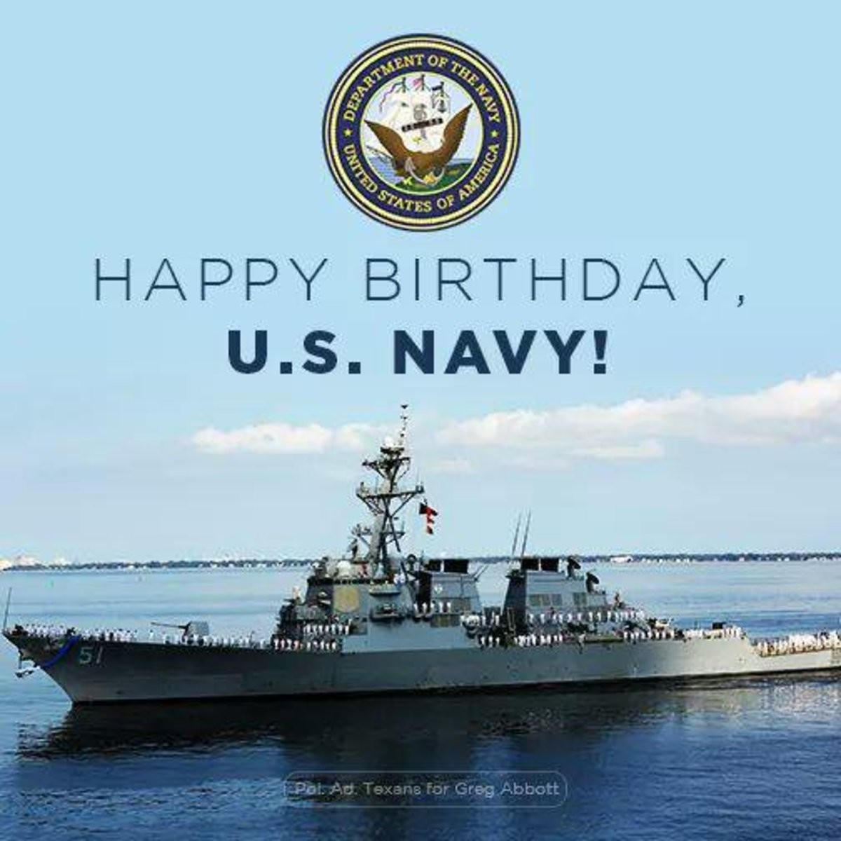 Happy Birthday to the US Navy. Does anyone who was in the US Navy want to tell a good sea story? Maybe just moments of abject stupidity? Or hilariously jerry-ri