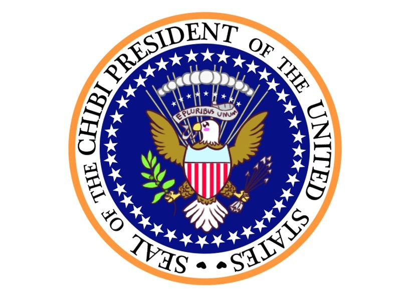 Happy Chibi Presidents day!. Happy Chibi Presidents Day! <3 All the chibi Presidents I can fit. <3 This is the official seal of the chibi Presidents. Here