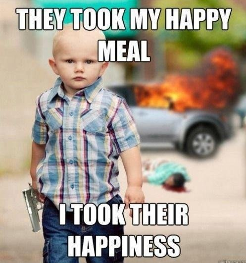 Happy meal. . Tit