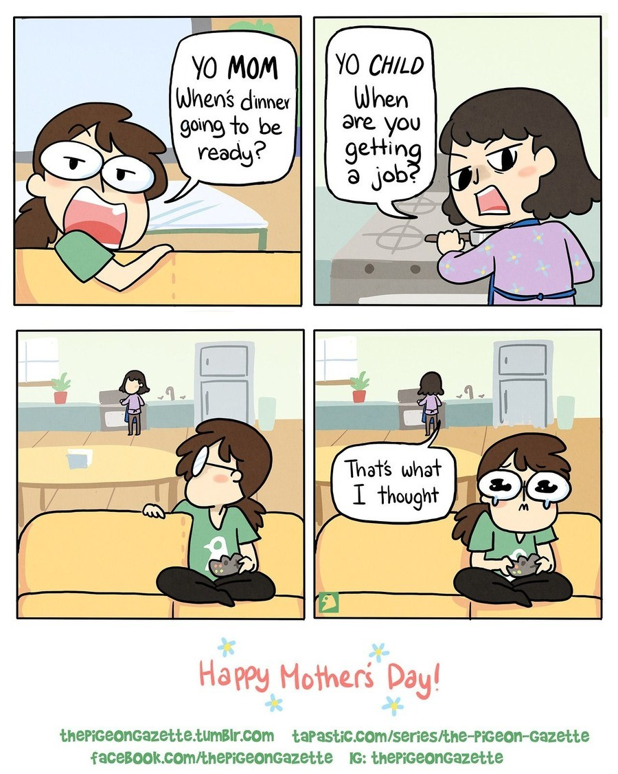 Happy mothers day!. .. >engaging your parent(s) lol, let me know how that goes for ya, mate