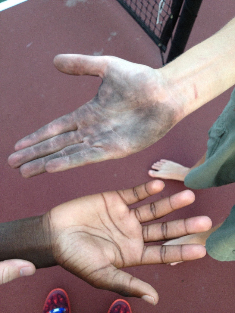 Have you ever high fived someone so hard. .. i am black myself and i find this as funny as hell