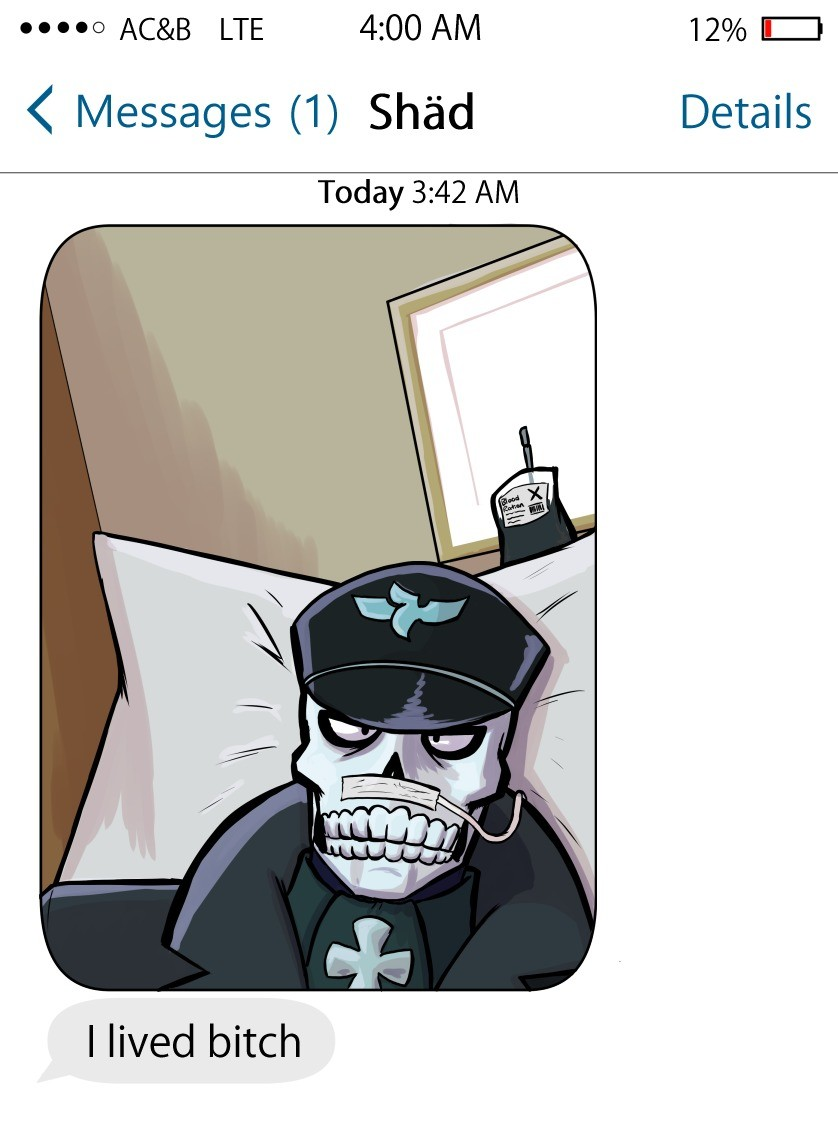 """He Lived, . Looks like Shadbase is gonna live. Artistic Freedom: 1 People with (Finger Quotes) """"Morals"""": 0 join list: ThirteenMentionsYou (97 subs)Men"""