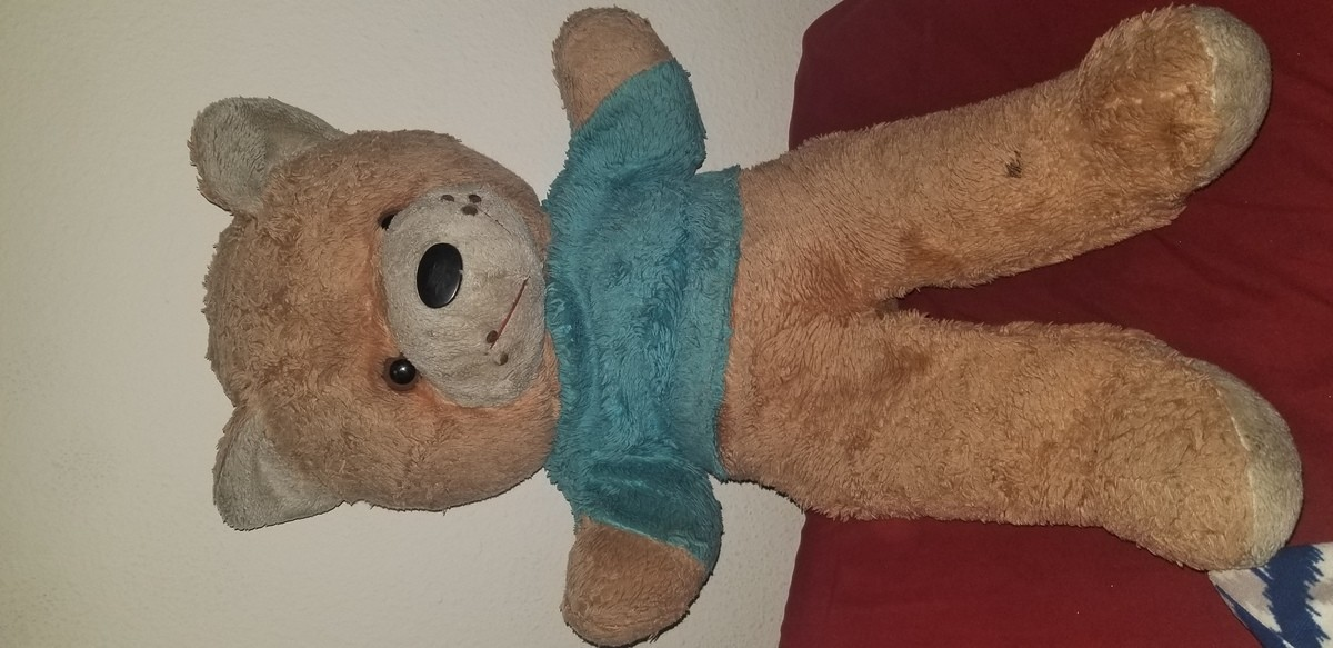 Help me FJ, you're my only hope. So. Long story short i want to find my wife a specfic teddybear. And I need help doing so. Long story: she got a teddybear from