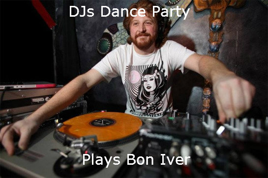 Hipster DJ. .