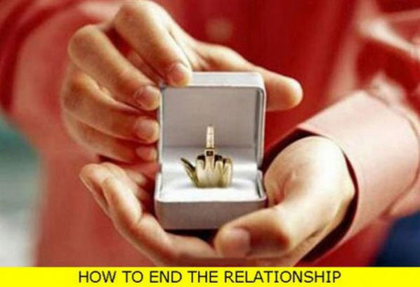 How To End A Relationship. . HOW TO END THE RELATIONSHIP