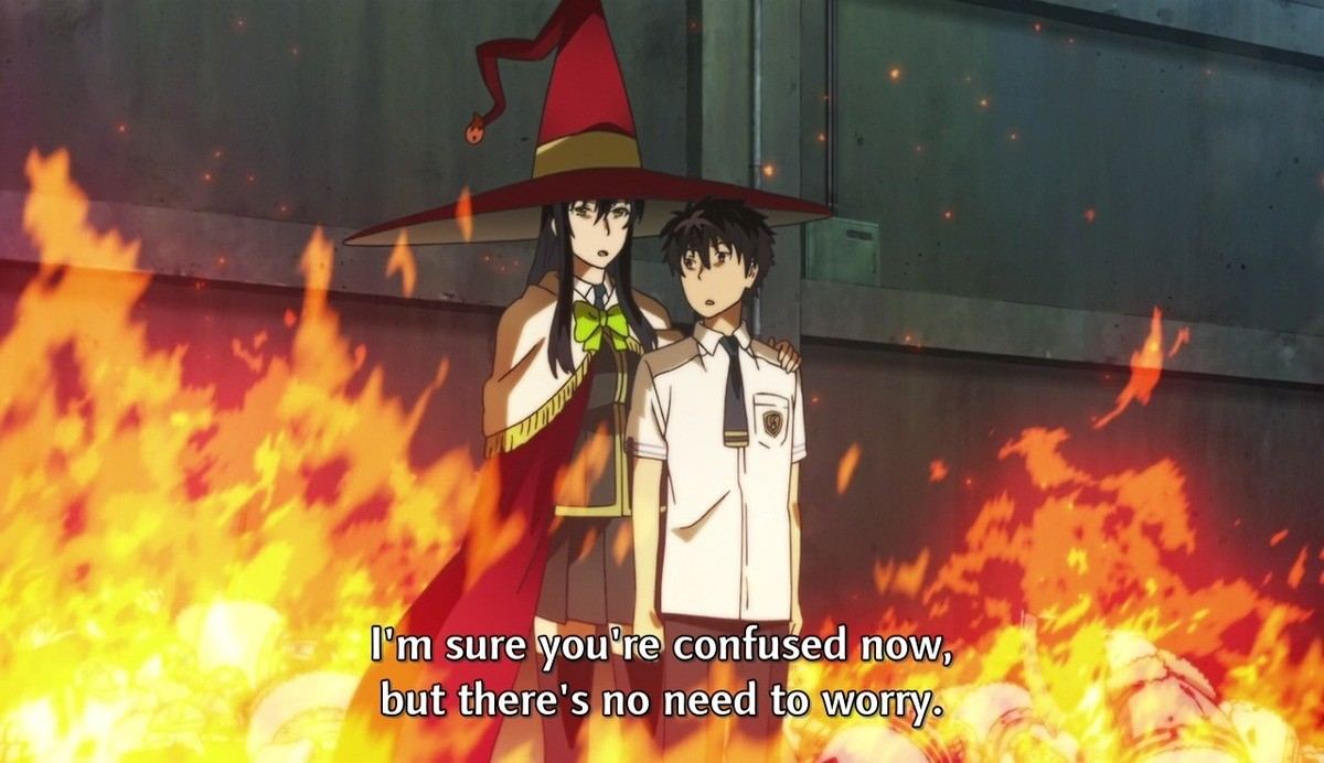 I need a hero. Witch Craft Works. but there' s no teii 'viii' idioti' i,,' i',' fail!I' m Eel ini. iiJul iii Urn, that tih' /. none of the character in that show react like any actual person would EVER! its actually really annoying its almost as painful as this pic related